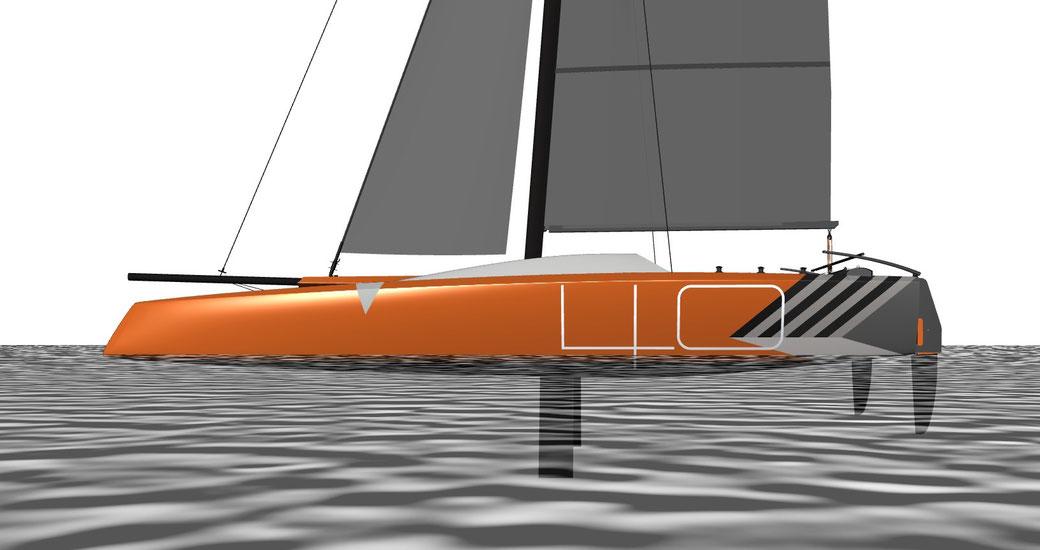 Livewire 40 Sports Catamaran