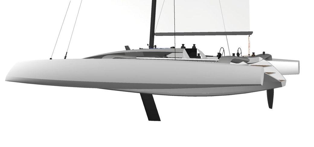 TR52 Performance Trimaran - Grainger Designs Catamarans and