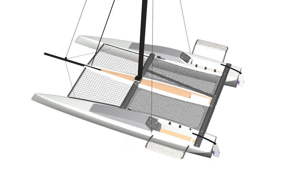 Image of Livewire 40 Sports Catamaran