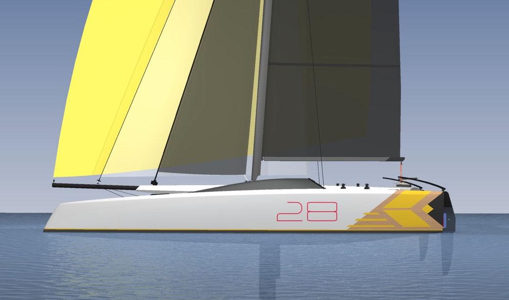 Livewire 28 Sports Catamaran