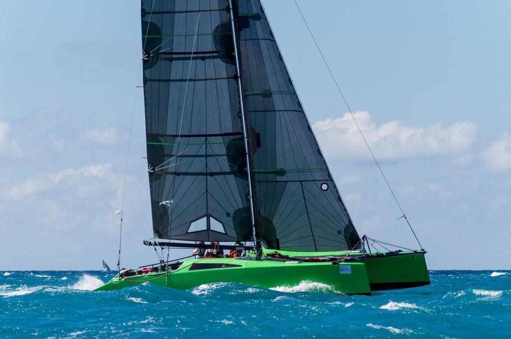 Photo of catamaran Barefoot Racing in Airlie Beach Race Week.