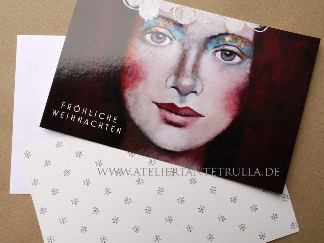 Weihnachtskarten Atelier Tante Trulla