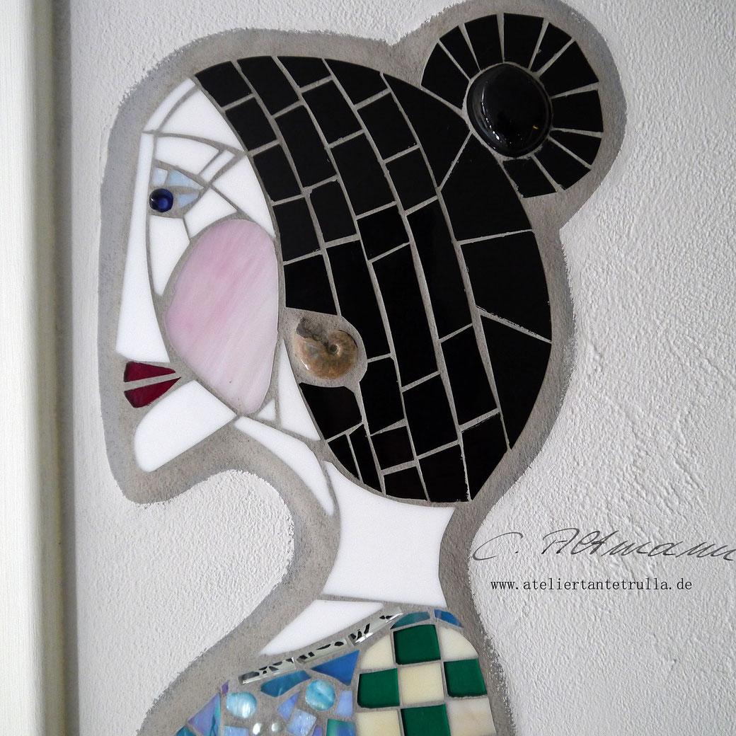 Mosaik Gesicht