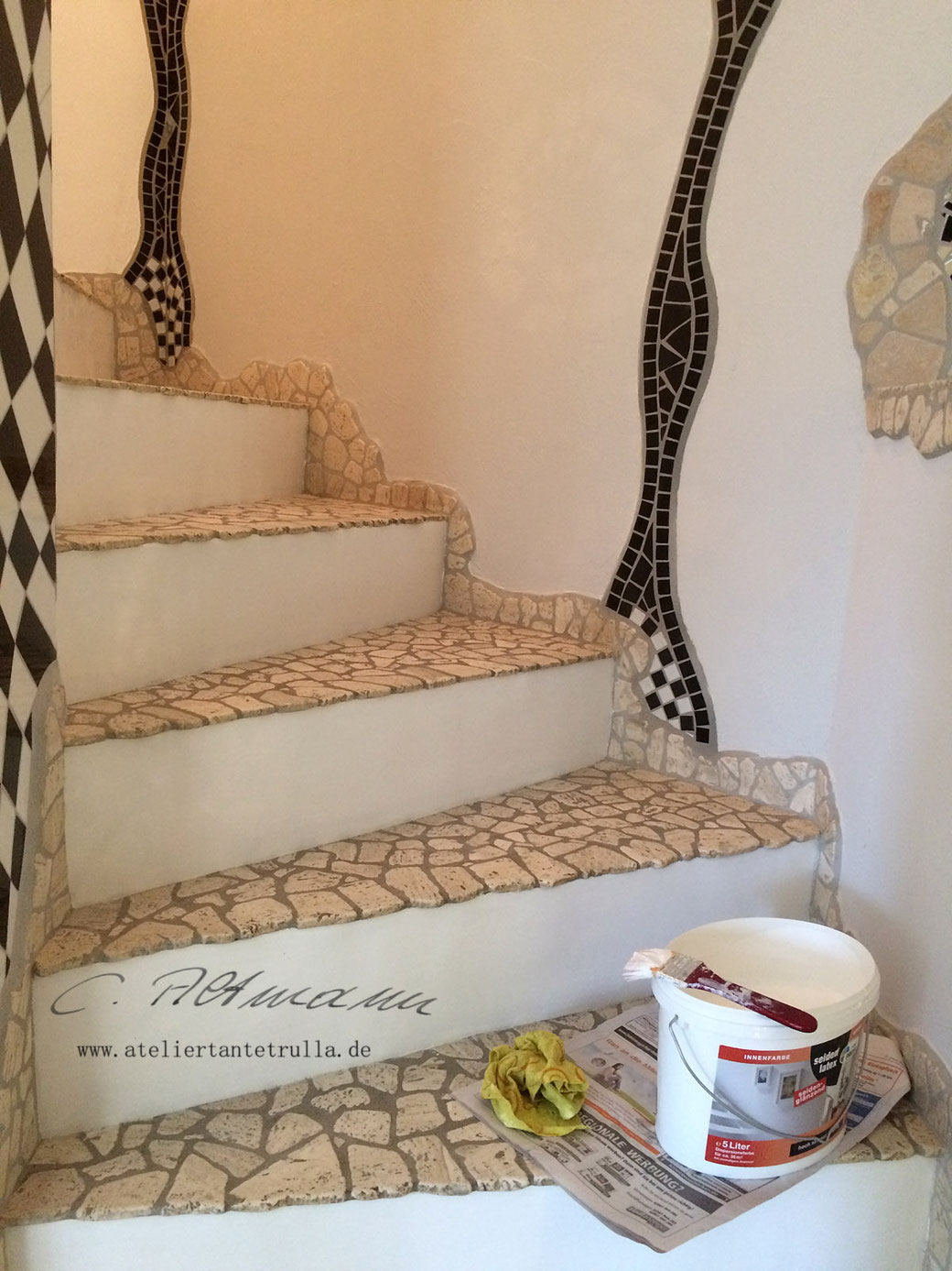 Treppe Marmor Ideen Flur