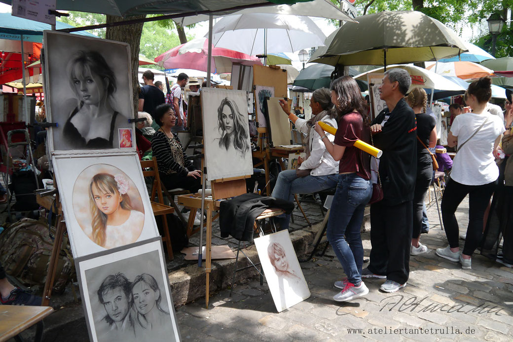 Künstler Montmartre
