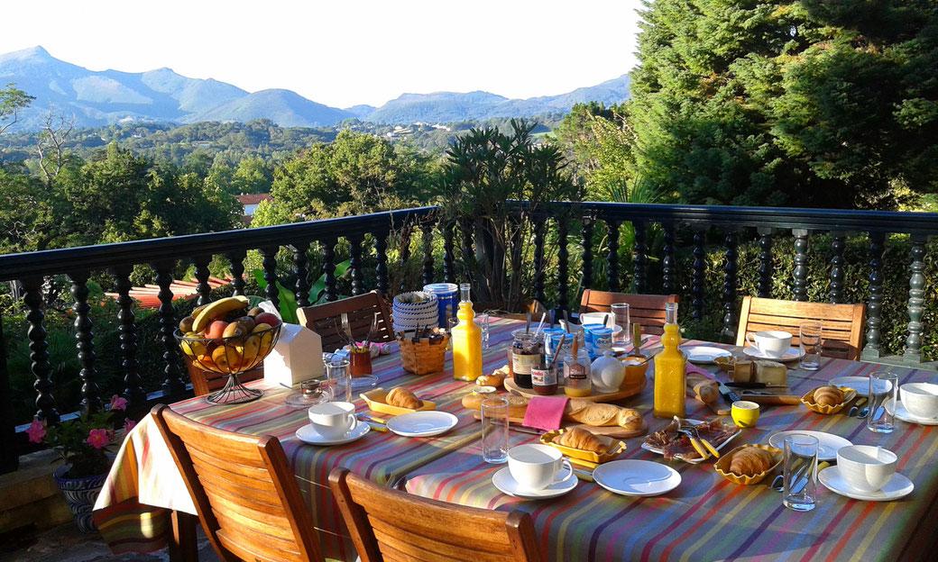 Petit-déjeuner typique Pays Basque