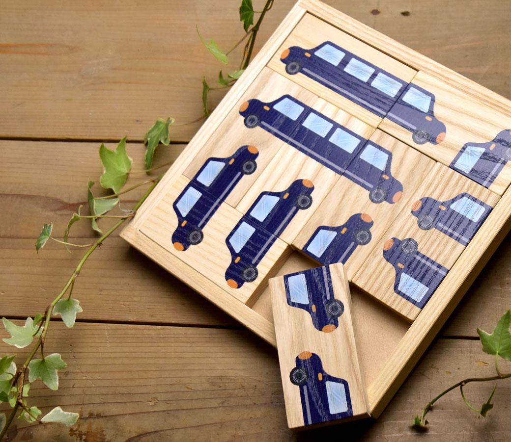 オリジナルの木製絵合わせパズル製作