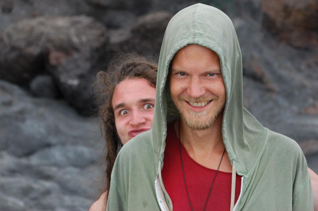 Leon aus Linz mit Marc...