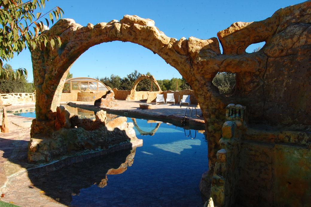 Der Poolbereich Sierra Natura bis ins Detail ganz toll gestaltet. Alles Hier ist wunderschön gemacht......