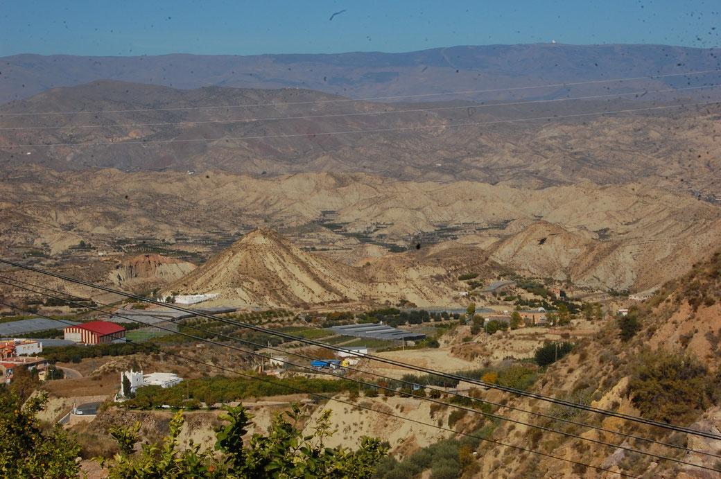 Die Sierra Nevada einfach gigantisch, auch die Strecken....