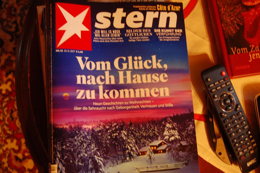 """Und wie treffend was so auf meinem Wohnzimmertisch rumliegt... es sind Zehn Geschichten lieber Stern. Und el Gordo ruft von seiner Wolke: """"Diez Historias querida Estrella!! Caramba""""!!"""