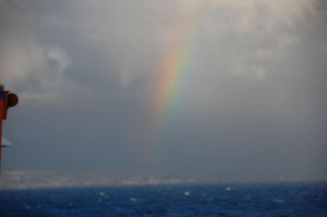 Der Himmel über Gran Canaria.... nach kurzer Zeit war mein Objektiv von der Gischt total salzig.