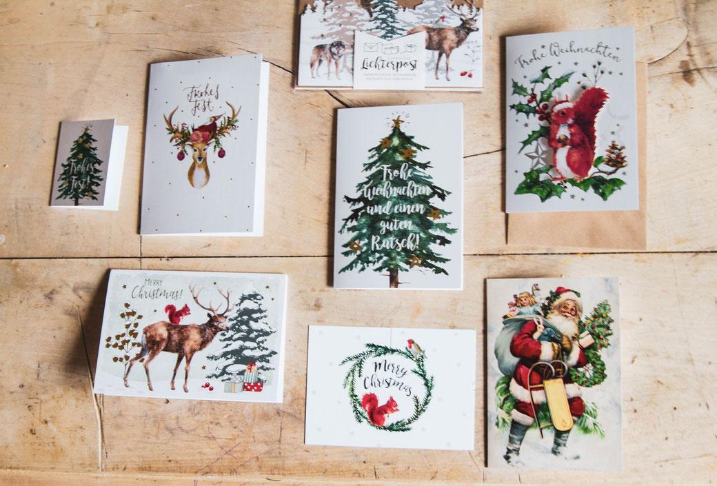 Weihnachtskarten, Grätz Verlag