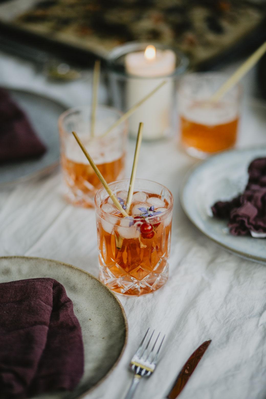 Johannisbeershrub ein leckerer Gartendrink