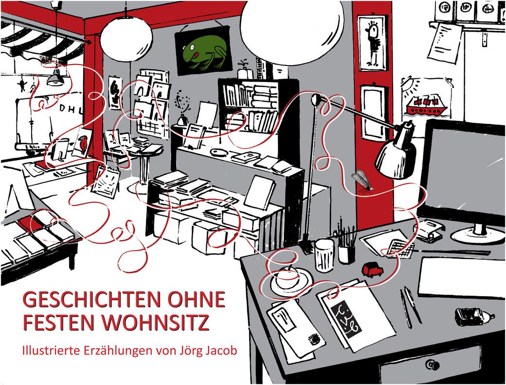 """Bild aus dem Buch """"Camus und die Eintagsfliege"""" von Jörg Jacob (Text) und Susann Hesselbarth (Illustration), gebunden, 12,00 Euro."""