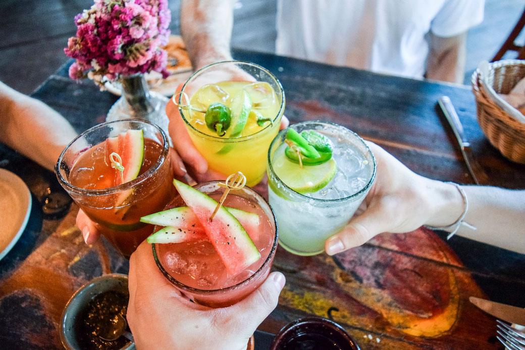 Hochzeits-Cocktails