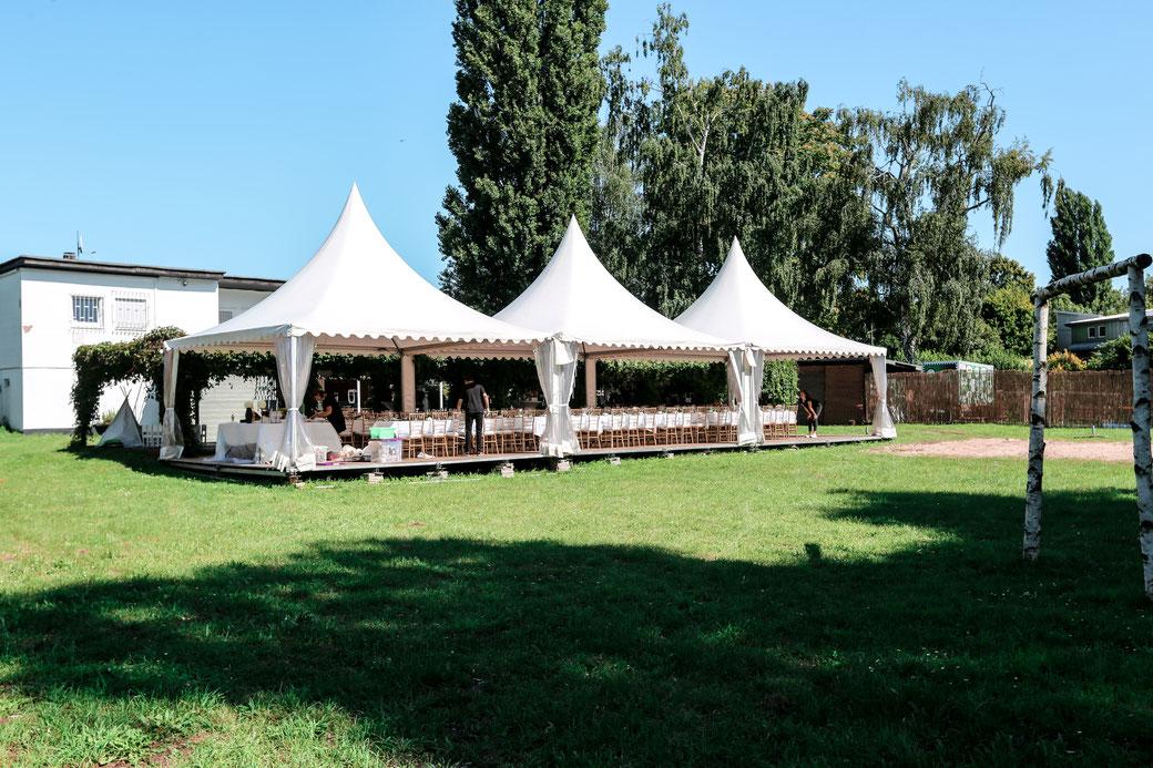 Hochzeit Mainwiese Offenbach