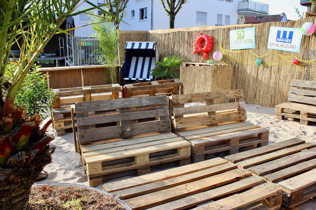 Beachbar Rodgauer Sommersonntag