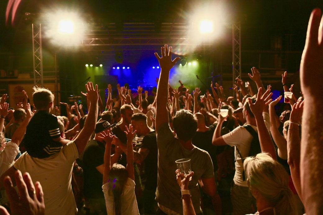 Wiedereröffnungs-Party Rodgau Edeka