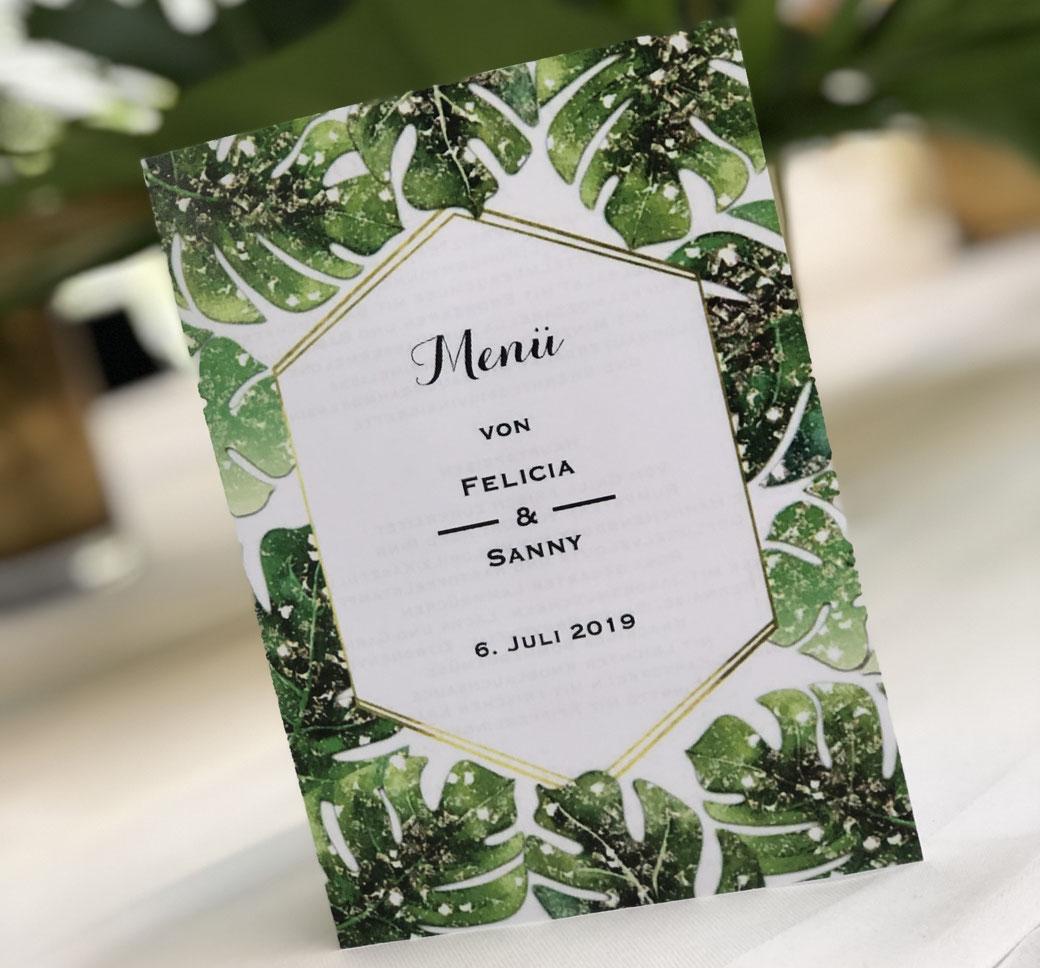 Hochzeitspapeterie - Hochzeitseinladung