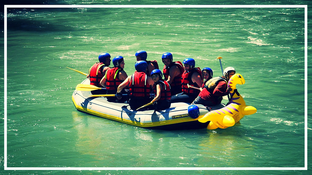 Rafting Famille Nice