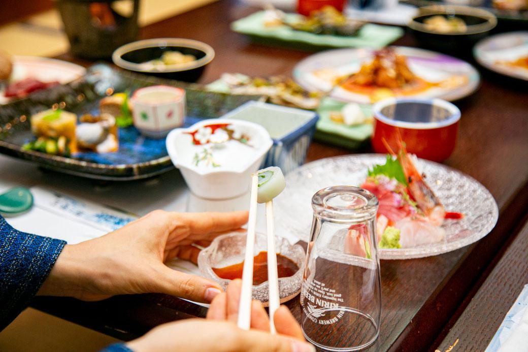 伊豆牛に天然鮎拘りの贅沢お食事かけ流し温泉プラン