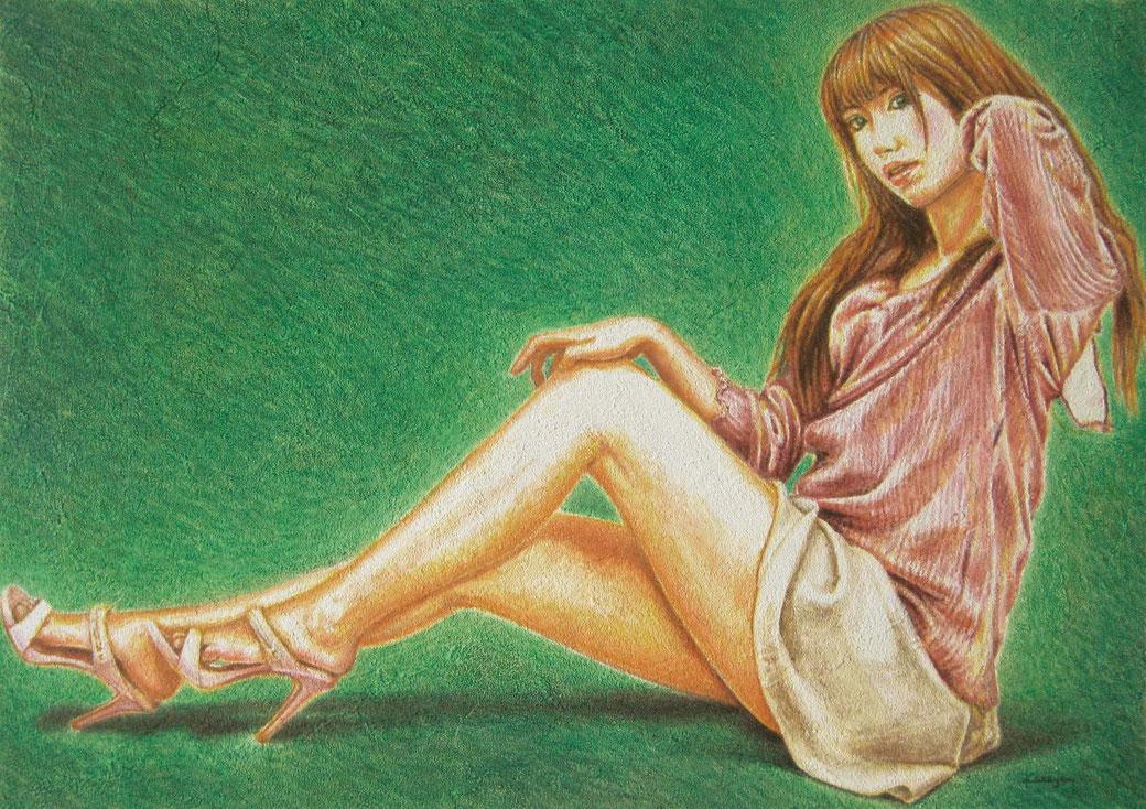 イラストレーション「第216回 ザ・チョイス」応募作品 《こころのままに 〜Dear mil〜》 B4/5月9-20日/46h