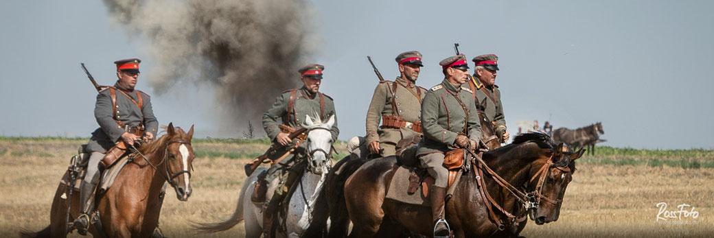 RossFoto Dana Krimmling, Deutscher Kavallerieverband, Bayerische Ulanen auf der Nachstellung Schlacht bei Komarow, 2020