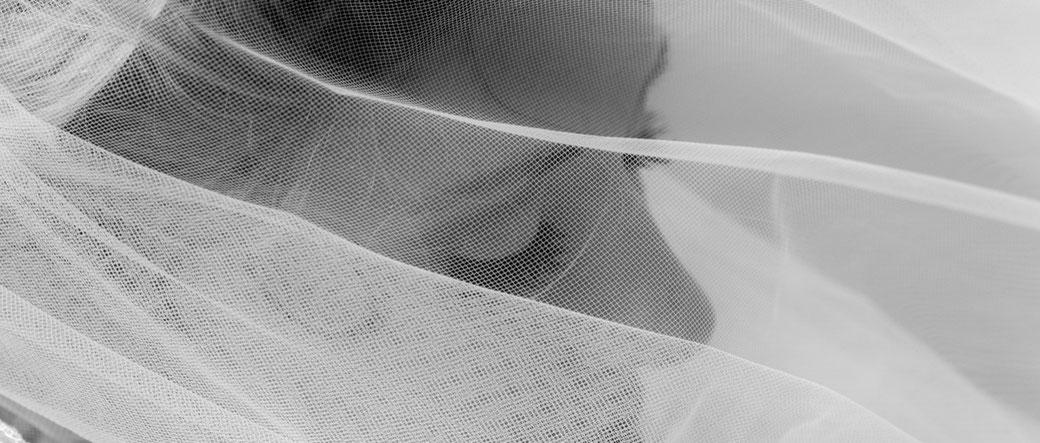 bruid sluier fotograaf