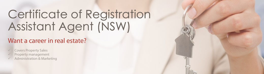 Certificate of registration - NSW