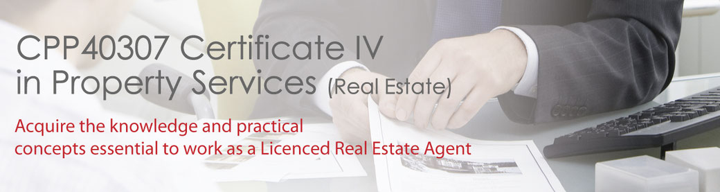 Certificate IV Property Services