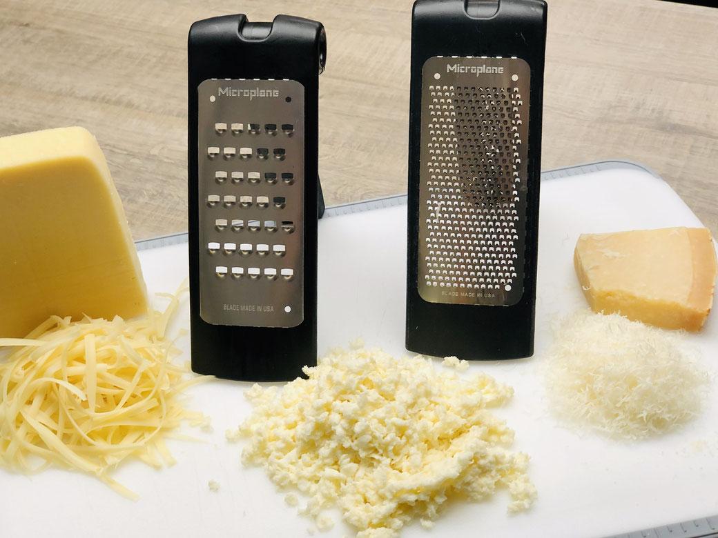 Microplane® Reiben von Pampered Chef® - feine und grobe Reibe