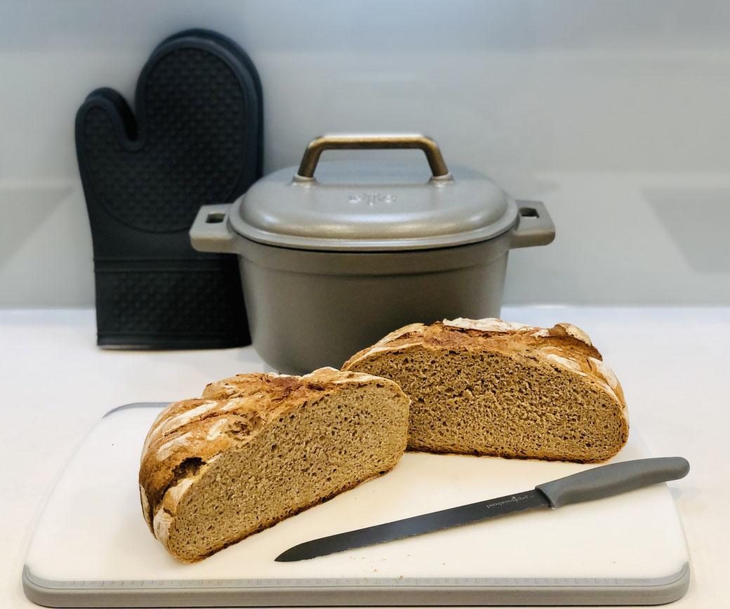 Krusti-Brot aus dem emaillierten Guss-Topf von Pampered Chef®