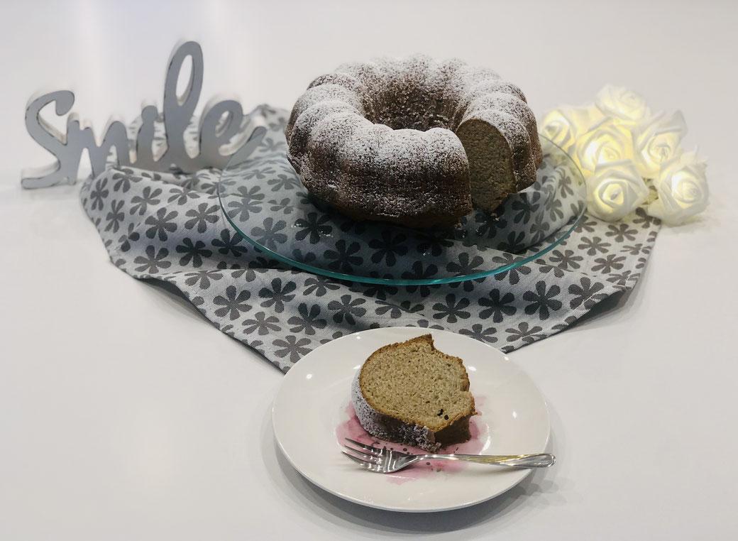 Kuchenrezept von Martina Ziehl gebacken in einer Gugelhupform von Pampered Chef®