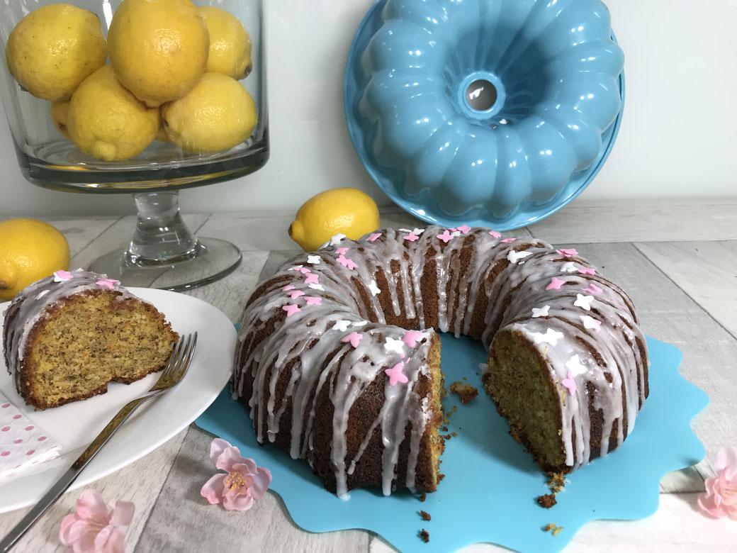 Leckerer Möhrenkuchen aus dem Thermomix® gebacken in der Kranzform von Pampered Chef®