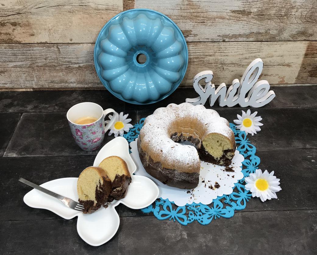 Backe dir einen leckeren Gugelhupf Kranzkuchen mit der Kranzform von Pampered Chef®