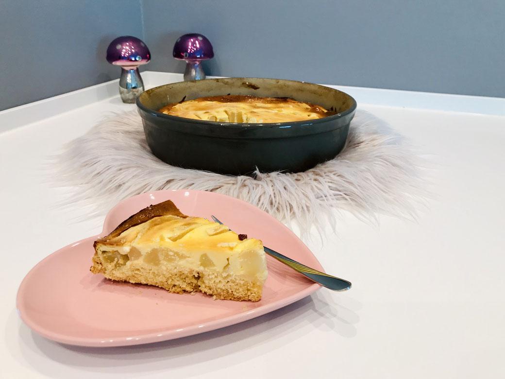 Ich backe meine Kuchen immer in der runden Stoneware Leila von Pampered Chef - da kann ich sicher sein, dass mir jeder Kuchen gelingt ♥