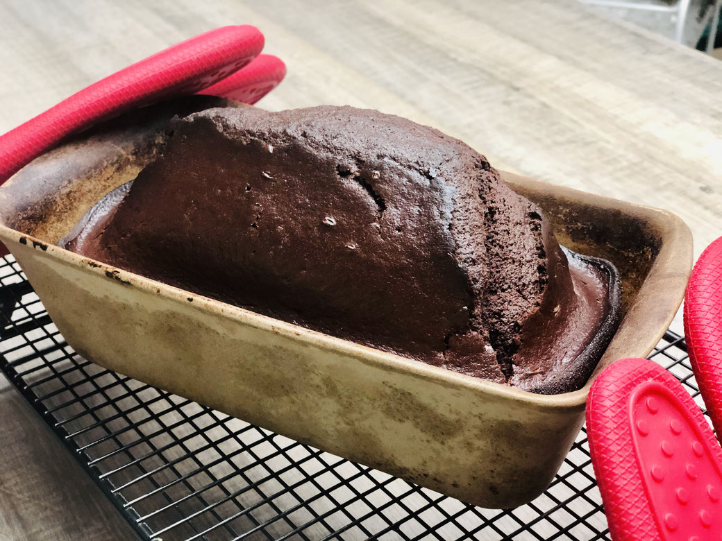 Hier siehst du meinen leckeren Schokolandenkuchen mit einem Schuss Baileys aus dem Zauberkasten von Pampered Chef®
