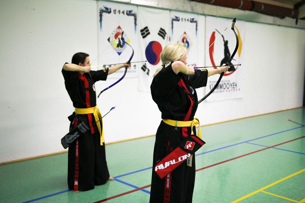 Koreanisches Bogenschießen