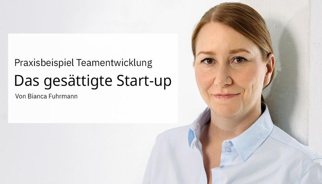 Praxisbeispiel Teamentwicklung - Das gesättigte Start-up von Bianca Fuhrmann, (c) Bianca Fuhrmann, www.bianca-fuhrmann.de