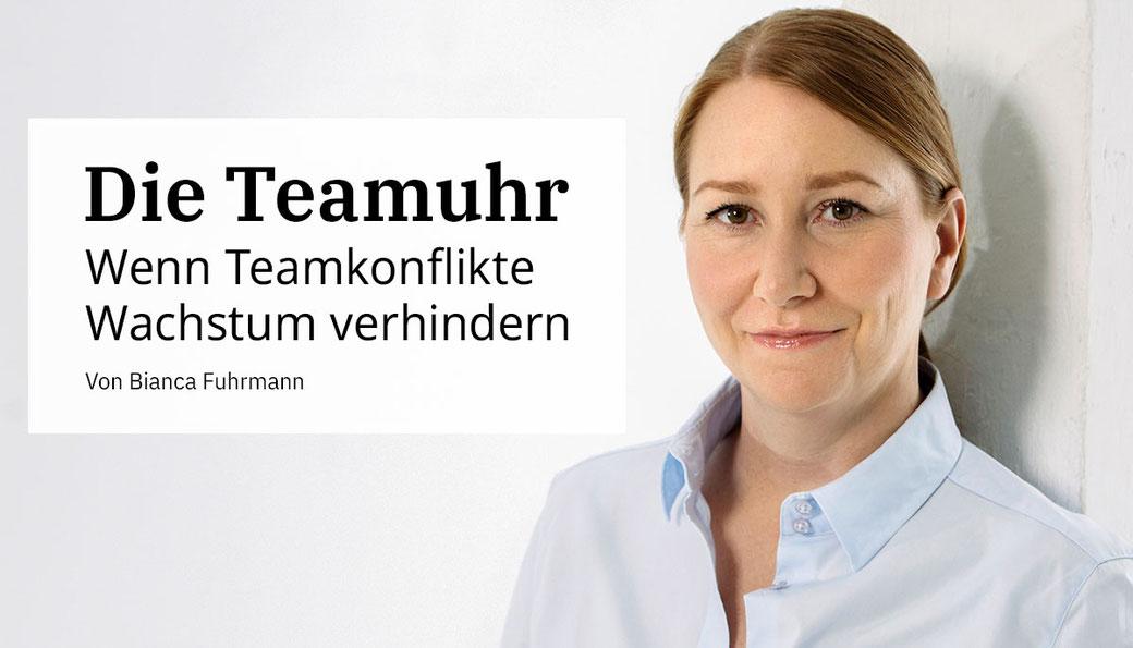 Die Teamuhr: Teamentwicklung, Teambuilding von Bianca Fuhrmann, (c) Bianca Fuhrmann, www.bianca-fuhrmann.de