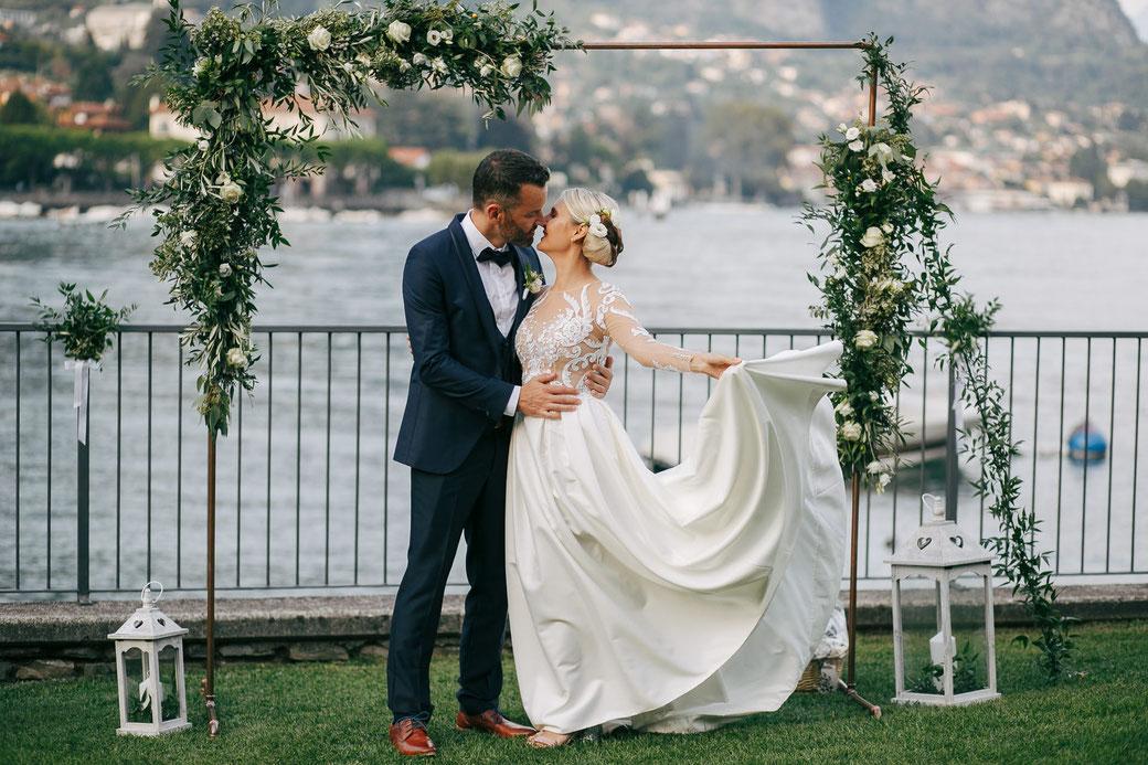 Allestimento Floreale Matrimonio Como