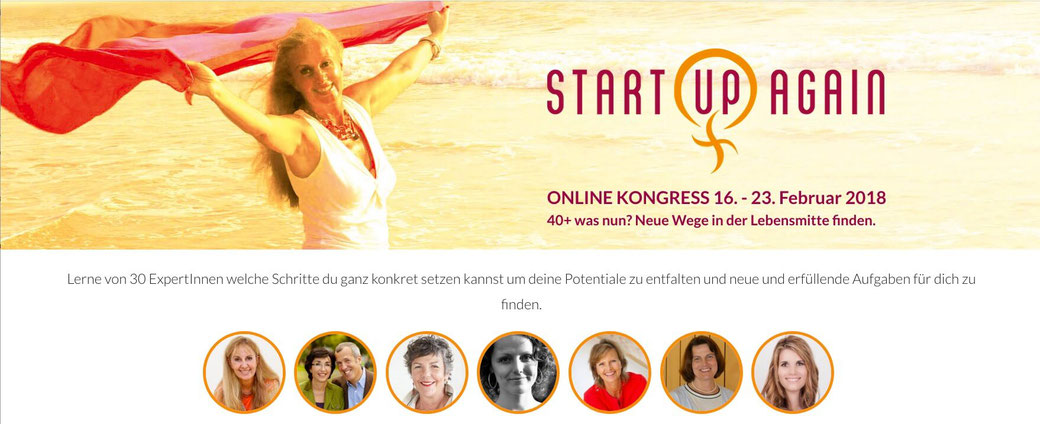 Soul Sisters Onlinekongress - Start up again!, MeinKongress.de