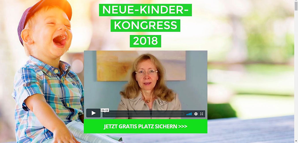 Neue Kinder Online Kongress 2018, MeinKongress.de