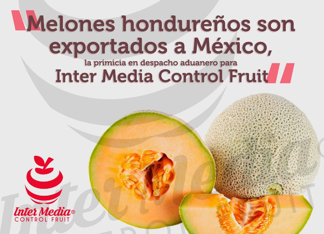 Melones hondureños son exportados a México, la primicia en despacho aduanero para Inter Media Control Fruit