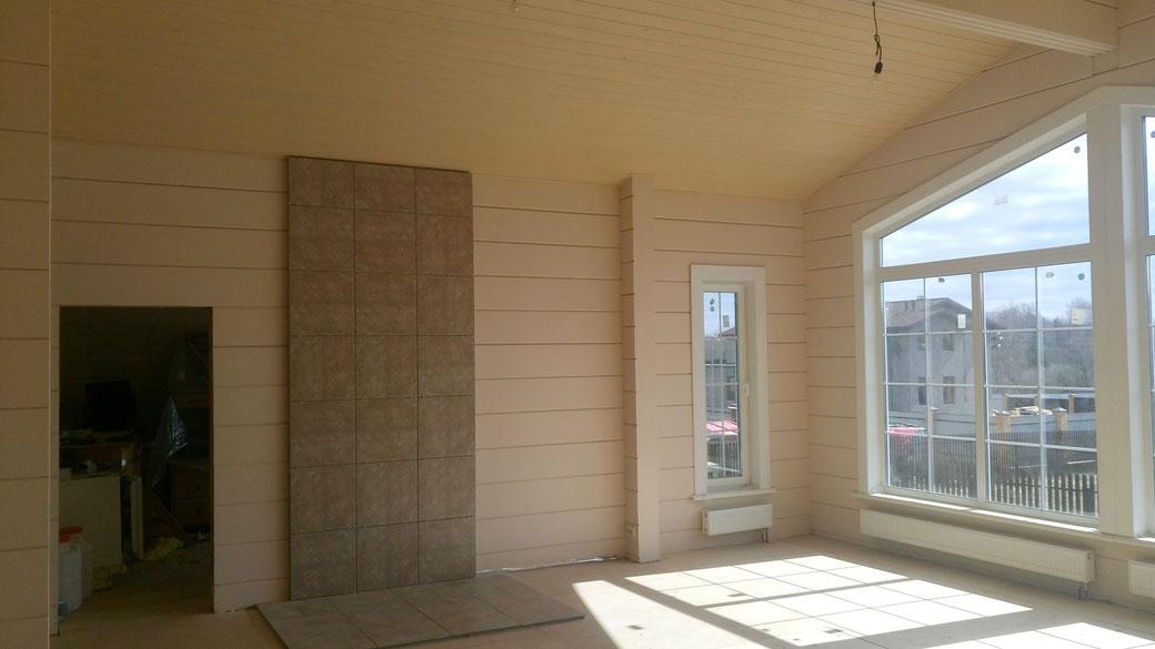 ле шале 150 кв.м, проект одноэтажное шале , строительство под ключ