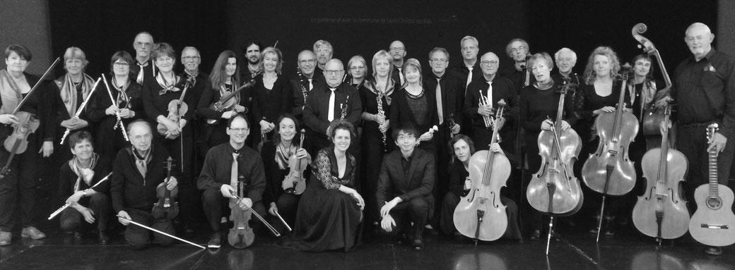 Das Orchester EIC, l'Ensemble instrumental des Cévennes +++ in Vorfreude auf die Komposition zum Thema Wasser und die erste Probe nach dem Lockdown +++