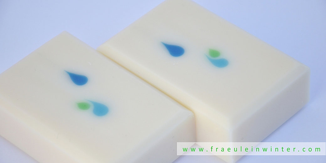 Droplets | Handmade soap by Fraeulein Winter