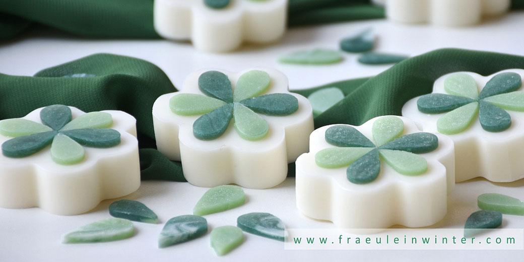 Seife mit Glycerinseifen-Applikation | Fräulein Winter