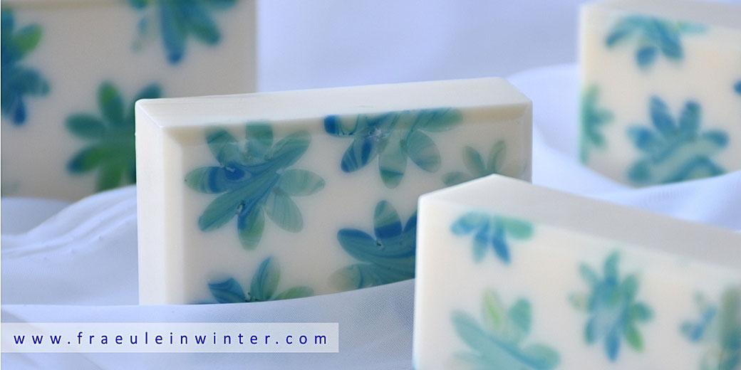 Handgemachte Seife mit Einlegern | Fräulein Winter